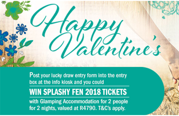 Win Splashy Fen tickets for 2 including glamping accommodation