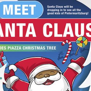 Meet Santa Claus at Cascades – 20 December 2017