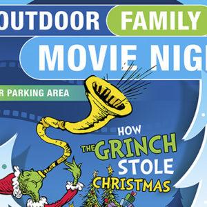 Outdoor family movie night – 14 December 2017