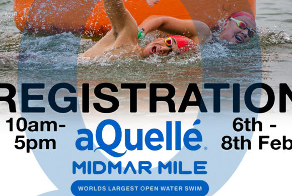 Register for the 2019 aQuelle Midmar Mile at Cascades Lifestyle Centre