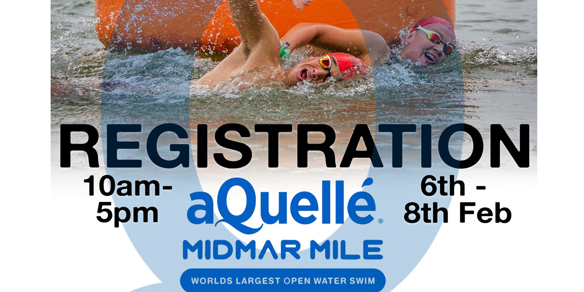 Register for the 2019 aQuelle Midmar Mile at Cascades Lifestyle Centre
