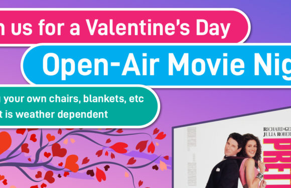 Valentine's Day Open-Air Movie Night