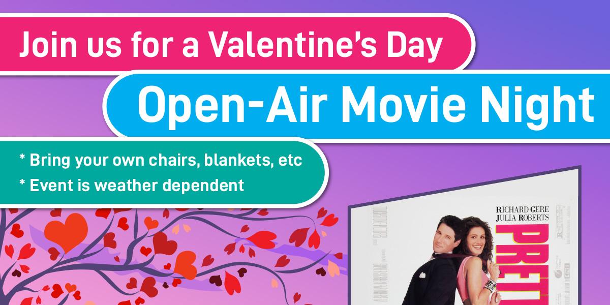 Valentine's Day Open-Air Movie Night