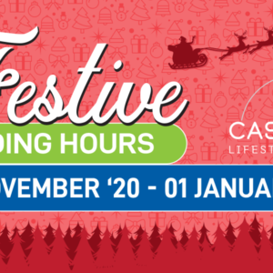 Festive Trading Hours at Cascades 2020