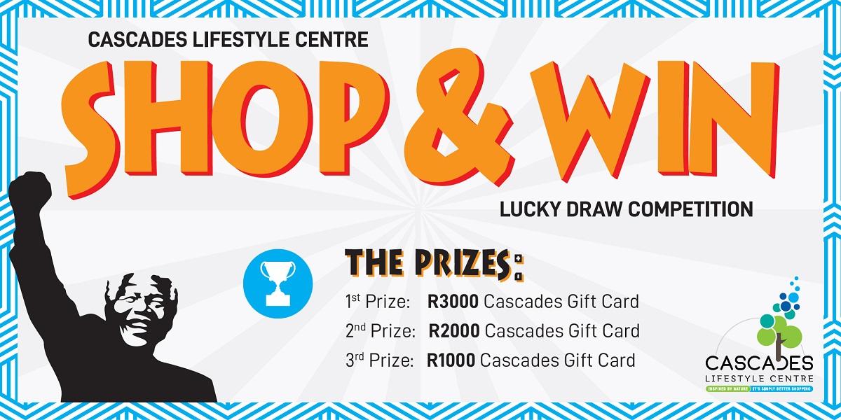 #MandelaMonth Shop & Win